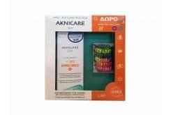 Synchroline PROMO Aknicare Sun SPF30 Αντιηλιακή Κρέμα, 50ml & ΔΩΡΟ Hair Ties Dessata