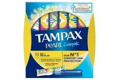 Tampax Pearl Regular Ταμπόν Υψηλής Απορροφητικότητας, 16 τεμάχια
