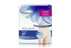 Tena Lady Pants Plus Medium Γυναικεία Προστατευτικά Εσώρουχα Ακράτειας Μέγεθος Medium, 9 τεμάχια