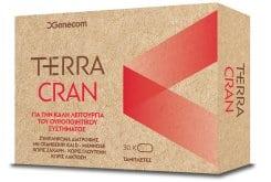 Genecom Terra Cran Συμπλήρωμα Διατροφής με Κράνμπερι για την καλή υγεία του ουροποιητικού, 30 tabs