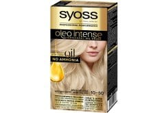 Syoss Oleo Intense Βαφή Μαλλιών 10.50 Κατάξανθο Σαντρέ, 1 τεμάχιο