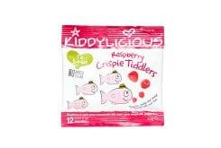 Kiddylicious Crispy Tiddlers Raspberry 12m+ Ψαράκια Βατόμουρο, 12gr
