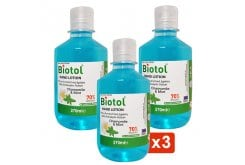 Biotol Hand Lotion Mild Antiseptic Action, Λοσιόν 70 Βαθμών Με Ήπια Αντισηπτική Δράση, 3x270ml
