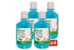 Biotol Hand Lotion Mild Antiseptic Action, Λοσιόν 70 Βαθμών Με Ήπια Αντισηπτική Δράση, 4x270ml