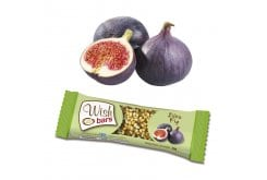 Wish Bars Fig Φυσική Μπάρα Ενέργειας με Γεύση Σύκο, 30 gr