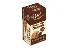 Wish Biscuits Cookies Μπισκότα με Σοκολάτα, 90gr
