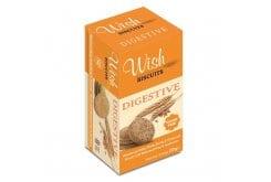 Wish Biscuits Digestive Μπισκότα Ολικής Άλεσης χωρίς Ζάχαρη, 220gr