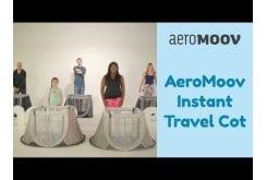 AeroMoov Instant Travel Cot Αναδιπλούμενο Παρκοκρέβατο, 1 τεμάχιο - Μαύρο