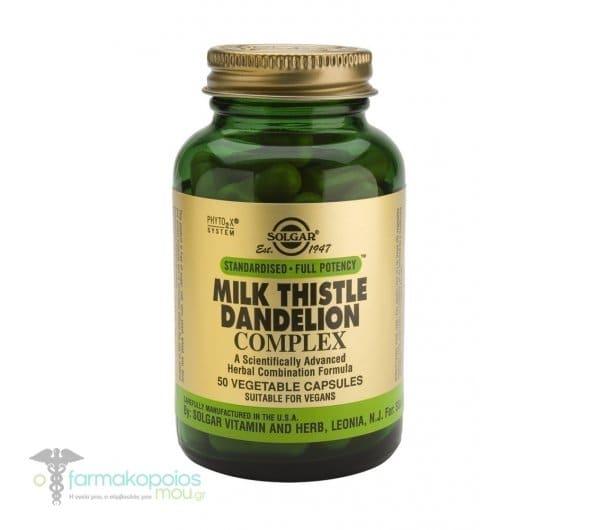 Solgar SFP Milk Thistle / Dandelion Complex,50caps
