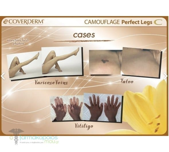 Coverderm Perfect Legs 50ml n.4, (SPF 16)