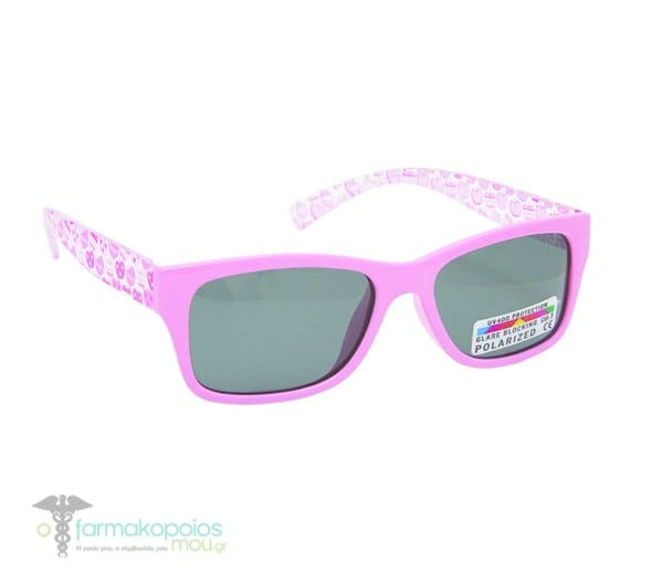 38e5ff6488 Vitorgan Eyelead Polarized Κ1020 Baby   Kids Rubber Sunglasses Light Pink  Color 7-12 years