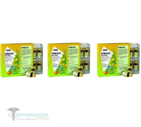 3x Power Health Epresat Multivitamin, 3x 10x10ml