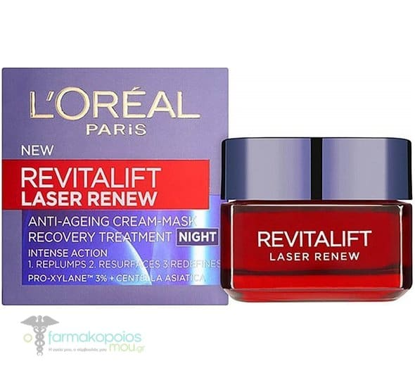 L'oreal Paris Revitalift Laser Renew Night Cream Anti-Age Night Cream, 50ml