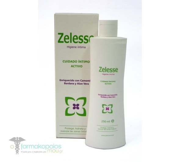 Zelesse Intim Wash Υγρό Καθαρισμού της Γυναικείας Ευαίσθητης Περιοχής χωρίς Σαπούνι, 250 ml