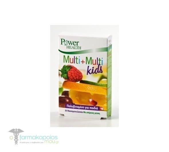 Power Health Multi+Multi Kids, 30 chweable tabs