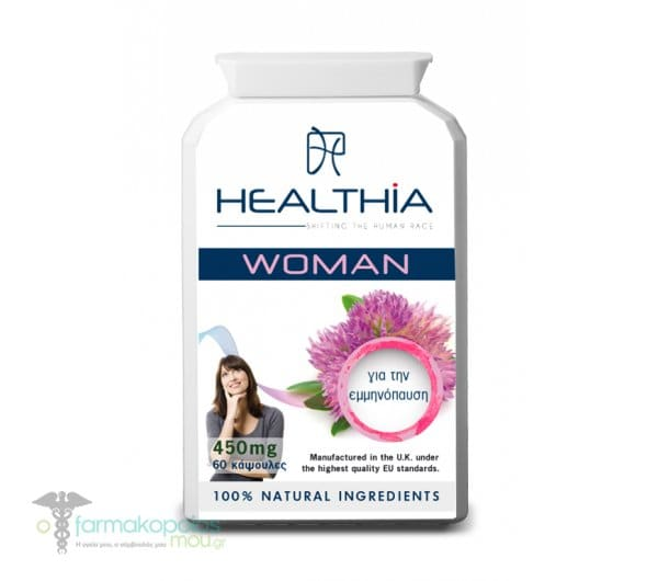 Healthia Woman 450mg Συμπλήρωμα για τη Γυναικεία Υγεία, 60 caps