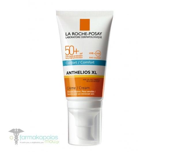La Roche Posay Anthelios XL Creme Comfort SPF50+ Αντιηλιακή Kρέμα με άρωμα, 50ml