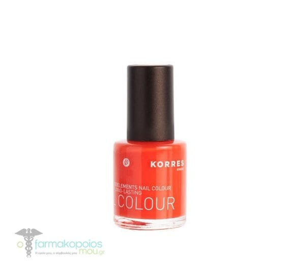Korres Nail Colour Βερνίκι Νυχιών σε Απόχρωση Tangerine 46, 11ml