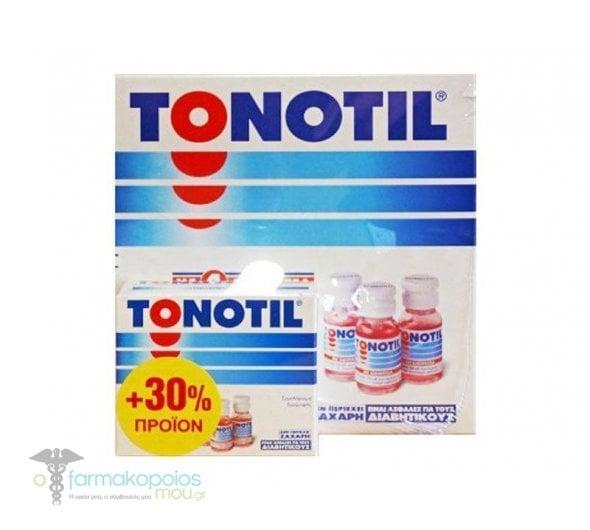 Tonotil Oral Ampoules 10x10ml (+30% product)