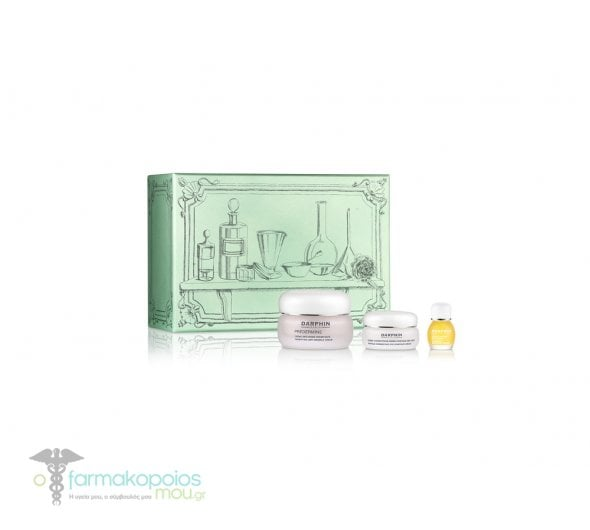 Darphin ΠΑΚΕΤΟ ΠΡΟΣΦΟΡΑΣ με Predermine Densifying Antiwrinkle Cream Αντιρυτιδική Κρέμα Προσώπου για Κανονικό/Μικτό Δέρμα, 50ml, Wrinkle Corrective Eye Contour Cream Αντιρυτιδική Κρέμα Ματιών, 15ml & Jasmine Aromatic Care Ελιξίριο Λάδι Γιασεμί, 4ml