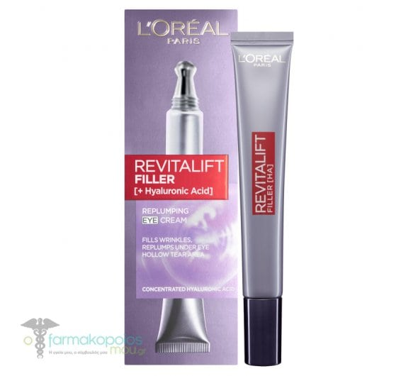 L'oreal Paris Revitalift Filler Eye Cream Anti-aging Eye Cream, 15ml