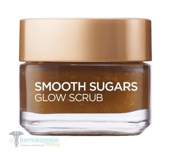 L'oreal Paris Smooth Sugars Glow Scrub για Λαμπερή & Απαλή Επιδερμίδα, 50ml