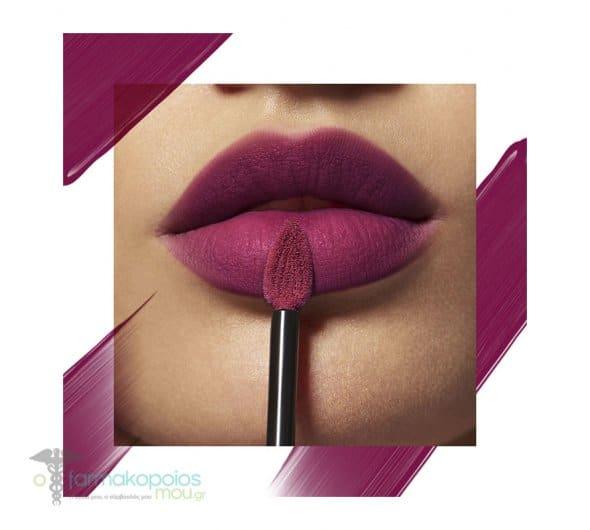 L'oreal Paris Rouge Signature 104 - I Rebel Liquid Lip Ink Υγρό Κραγιόν Απόχρωση 104 - I Rebel, 1 τεμάχιο
