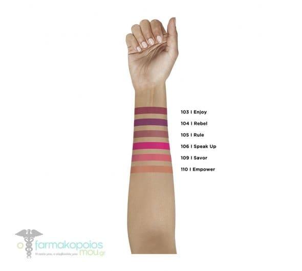 L'oreal Paris Rouge Signature 115 - I Am Worth Liquid Lip Ink Υγρό Κραγιόν Απόχρωση 115 - I Am Worth, 1 τεμάχιο