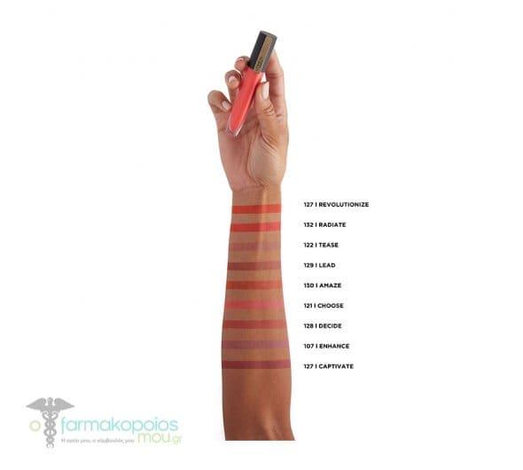 L'oreal Paris Rouge Signature 107- I Enhance Liquid Lip Ink Υγρό Κραγιόν, 7ml