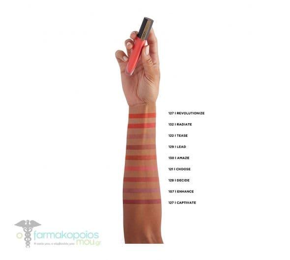 L'oreal Paris Rouge Signature 129- I Lead Liquid Lip Ink Υγρό Κραγιόν, 7ml
