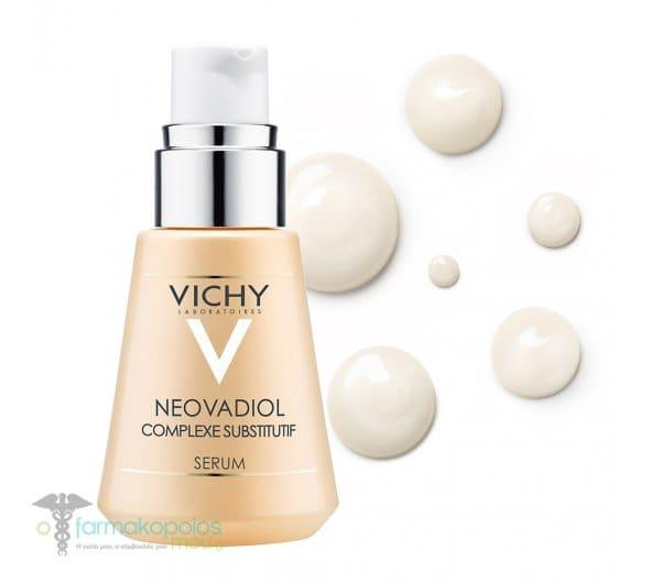 Vichy Neovadiol Substitutif Complexe Concentre Συσφικτικός Ορός Προσώπου με Σύμπλοκο Αναπλήρωσης, για Όλους τους Τύπους Επιδερμίδας, 30 ml