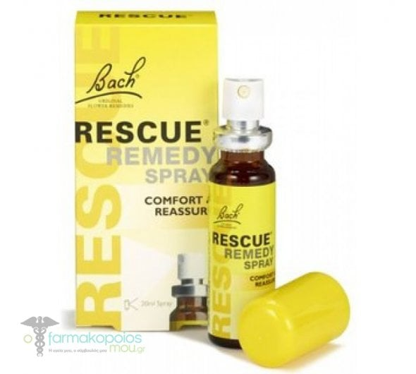 Power Health Dr. Bach Rescue Remedy Ανθοΐαμα σε Σπρέι για τη Διαχείριση του Άγχους, 20ml