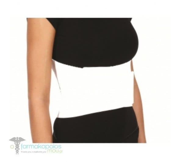ADCO Ζώνη Πλευρών για Γυναίκες (04101) Κατασκευασμένη από μαλακό ελαστικό ύφασμα, με ανατομικό κόψιμο στο στήθος, Κατάλληλη για κατάγματα ή κακώσεις των πλευρών, Ένα μέγεθος, 1 τεμάχιο