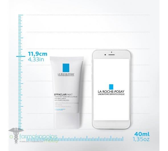 La Roche Posay Effaclar Mat, Ενυδατική Σμηγματορρυθμιστική Φροντίδα, 40ml