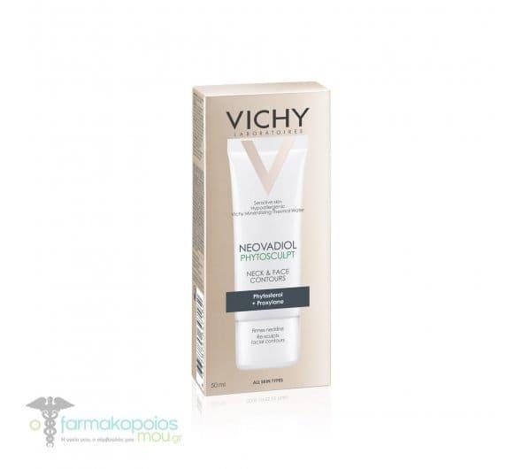 Vichy Neovadiol Phytosculp Creme Κρέμα Ημέρας για το Λαιμό & το Περίγραμμα του Προσώπου, 50ml