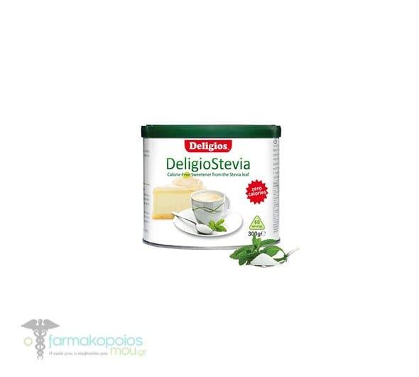 Deligios Stevia Γλυκαντικό από Εκχύλισμα Φύλλων Stevia, Οικονομική Συσκευασία 300gr