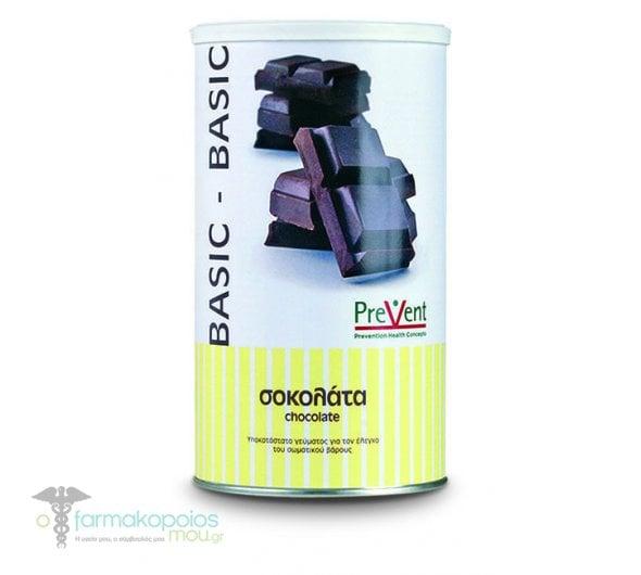 Prevent Basic Υποκατάστατο Γεύματος με Υδατάνθρακες, με Γεύση Σοκολάτας, 465gr