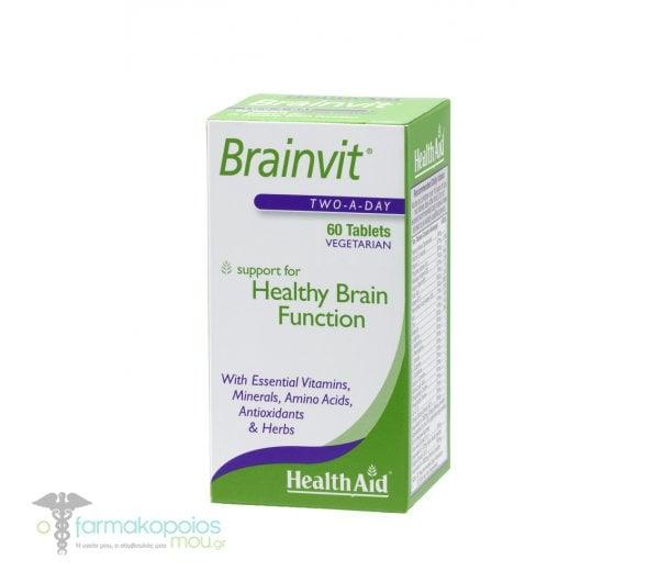 Health Aid BRAINVIT, 60 ταμπλέτες