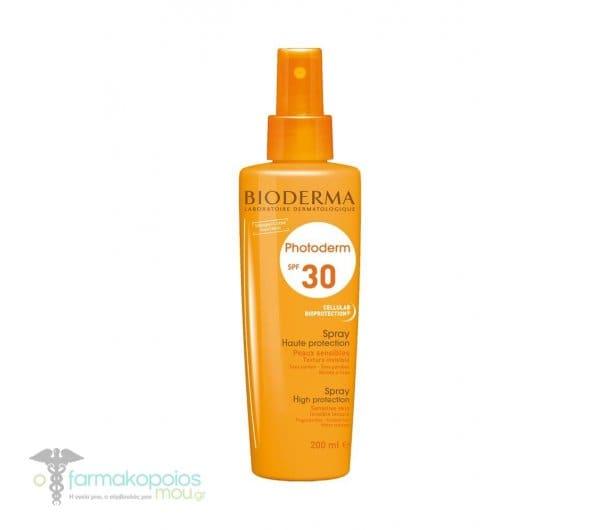 Bioderma Photoderm Spray υψηλής φωτοπροστασίας  SPF30, 200ml
