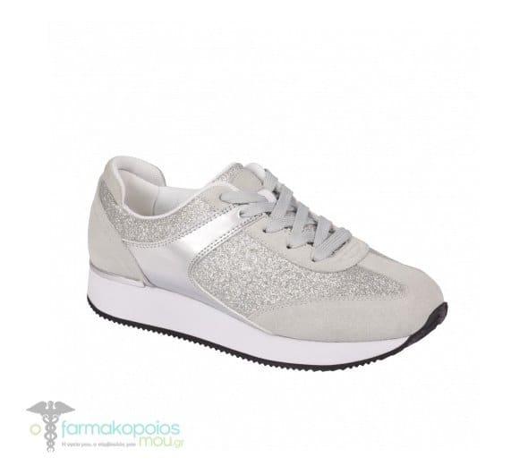 4fb0a6acf93 Scholl Charlize Sneaker Silver Ανατομικό Αθλητικό Παπούτσι, Ασημί ...