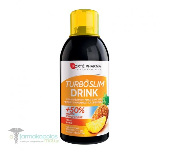 Forte Pharma Turboslim Drink Pineapple Flavor, 500ml