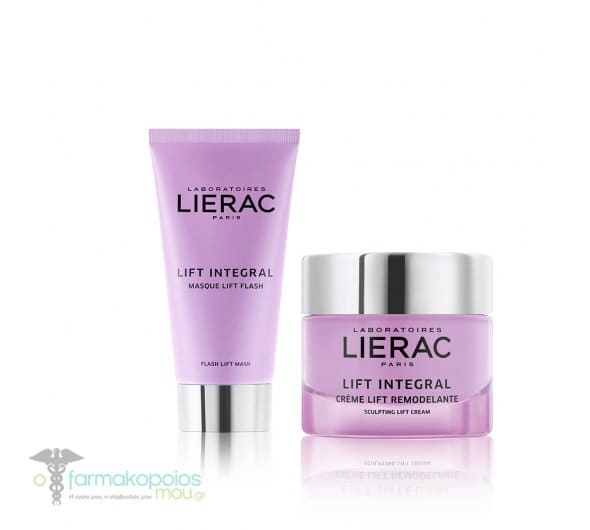 Lierac Lift Integral PROMO PACK with Masque Flash Lift, 75ml & Creme Lift Remodelante, 50ml