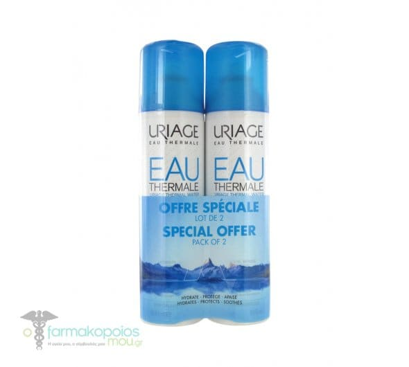 Uriage Special Offer Pack of 2 Eau Thermale Water Spray Ιαματικό Νερό σε Σπρέι, 2 x 300ml