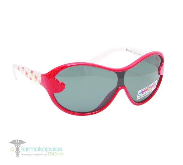 79c6b00335 Vitorgan Eyelead Polarized Κ1021 Παιδικά   Βρεφικά Γυαλιά Ηλίου Καουτσούκ  Κόκκινο-Λευκό Χρώμα απο 2