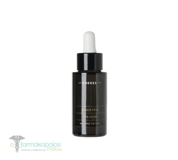 Korres BLACK PINE 3D Scuplting, Firming and Nourishing Active Oil, 30 ml