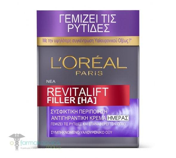 L'oreal Paris Revitalift Filler Day Cream Anti-Aging Day Cream, 50ml