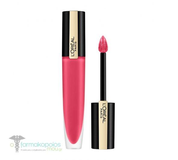 L'oreal Paris Rouge Signature 128- I Decide Liquid Lip Ink Υγρό Κραγιόν, 7ml