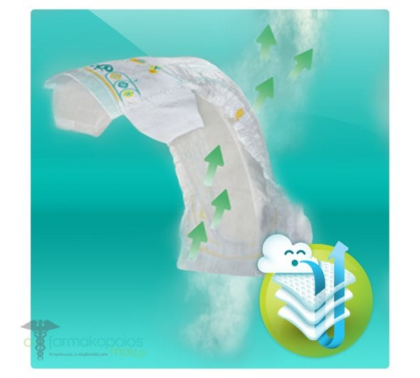 Pampers Active Baby Dry Jumbo Pack No.6 (Extra Large) 15+ kg Nappies, 42 pcs