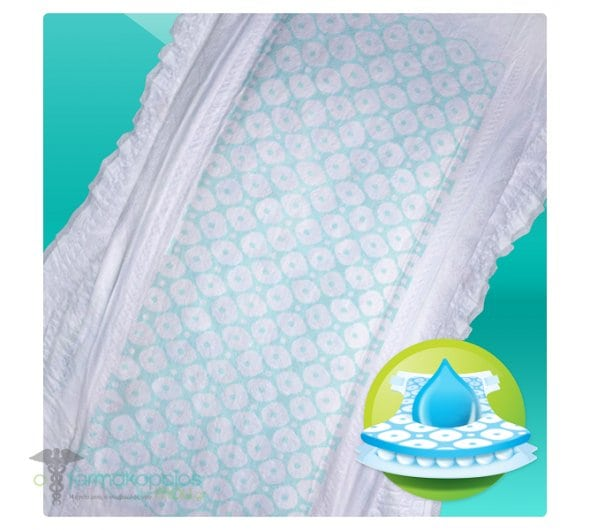 Pampers Active Baby Dry Jumbo Pack No.4+ (Maxi+) 9-16 kg Βρεφικές Πάνες, 53 τεμάχια