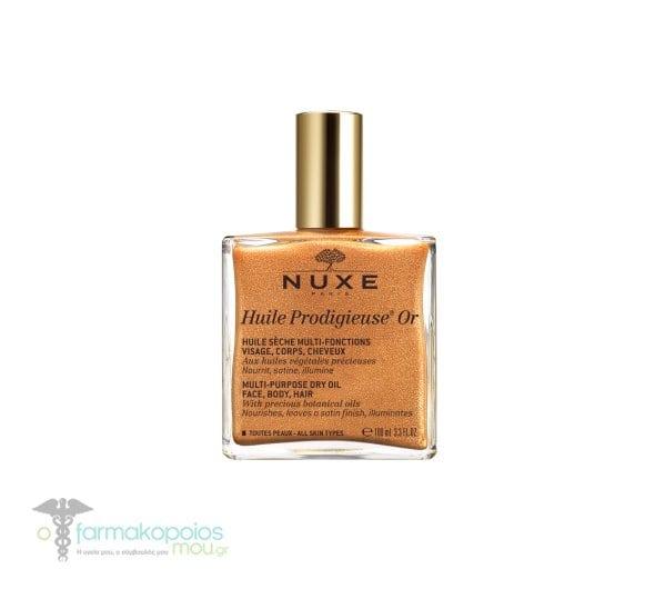 Nuxe RPOMO ΕΙΔΙΚΗ ΤΙΜΗ Huile Prodigieuse Or Ιριδίζον Ξηρό Λάδι για Πρόσωπο-Σώμα-Μαλλιά, 100ml